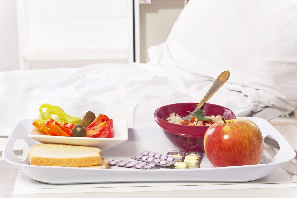 Antibiotikum a jedlo