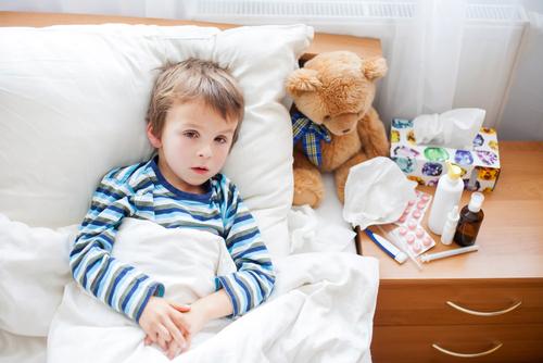 antibiotiká u detí liečba