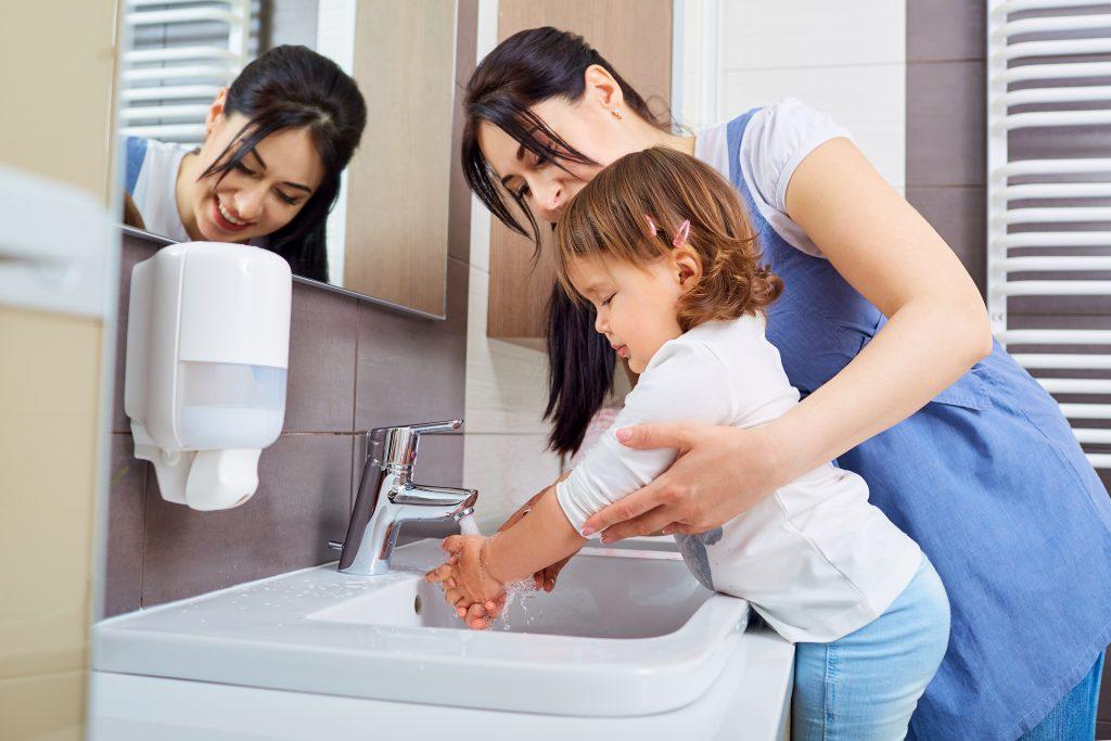 správne umývanie rúk