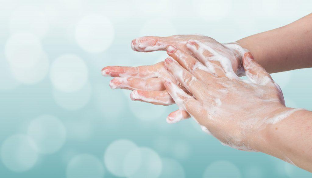 umývanie rúk- vírusy