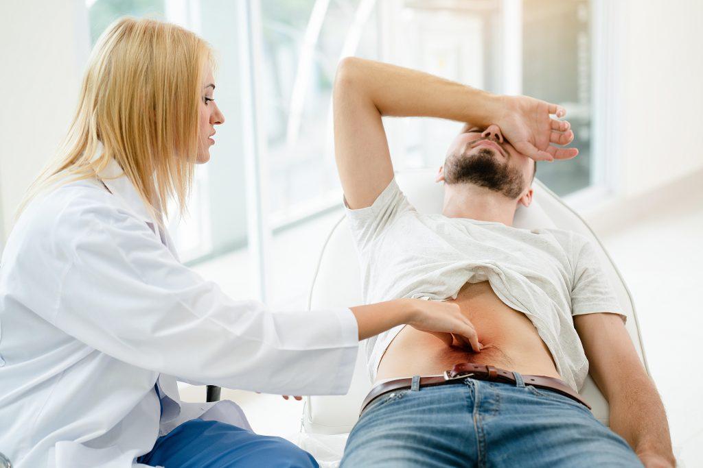 zápal hrubého čreva diagnostika